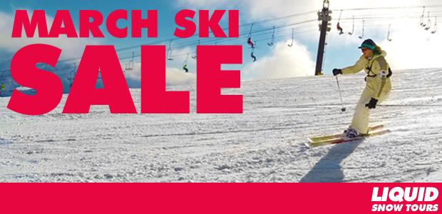 March Ski Sale